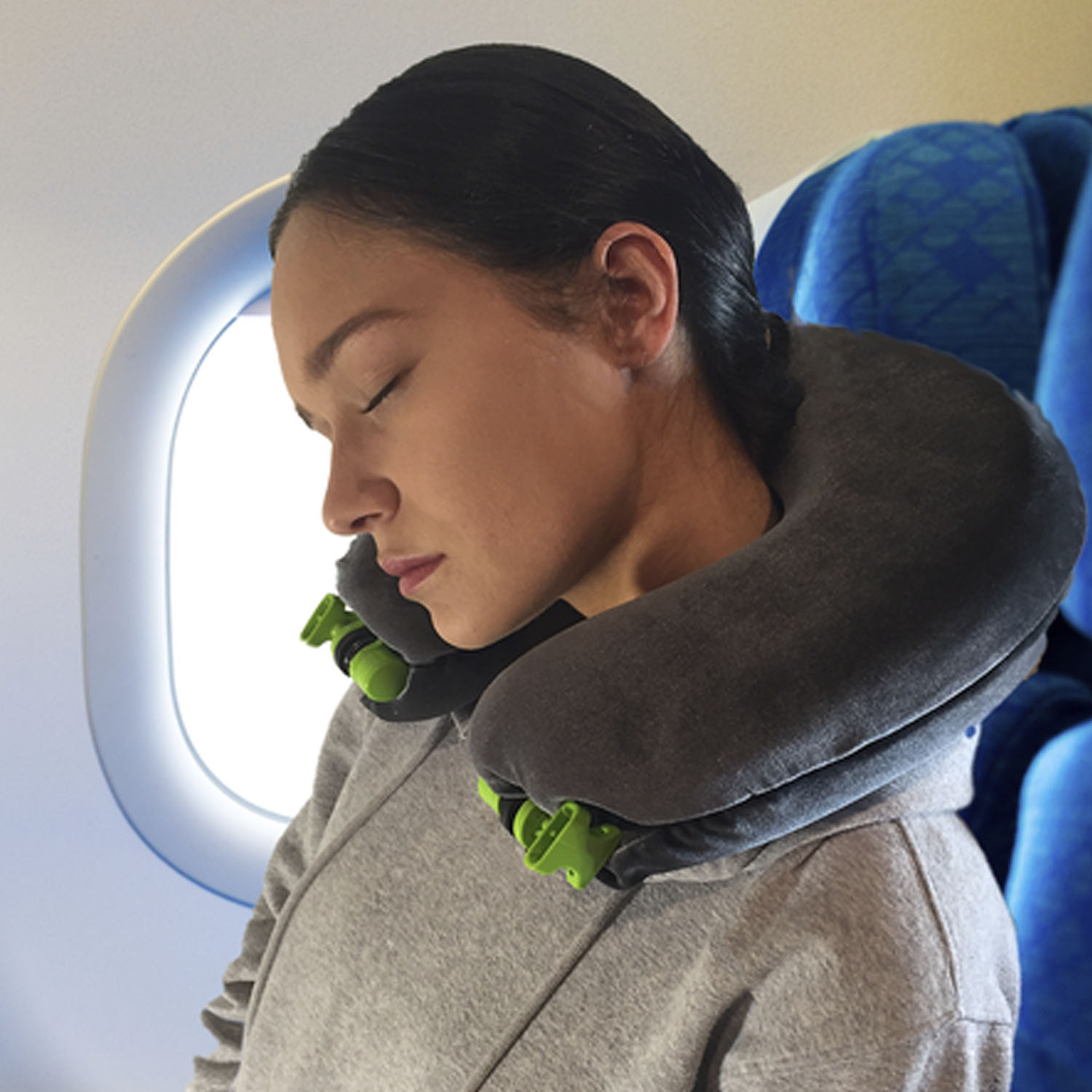 Dozing Just like a normal neck pillow